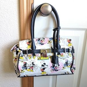 Disney Retro Minnie and Mickey mouse purse